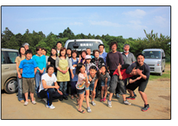 2011年 東日本大震災被災者への支援活動